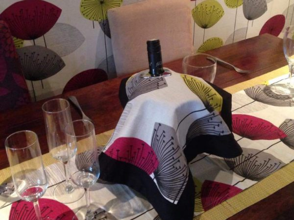 Home & Garden Wine Napkin